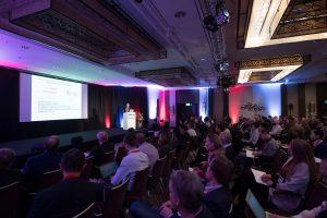 DEU, Deutschland, Germany, Berlin, 11.11.2019: 7th International mRNA Health Conference at Hotel Hilton Berlin.