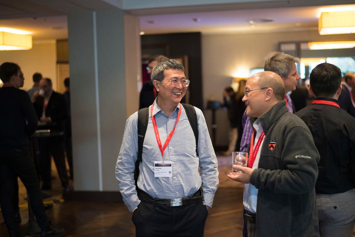 DEU, Deutschland, Germany, Berlin, 12.11.2019: 7th International mRNA Health Conference at Hotel Hilton Berlin.